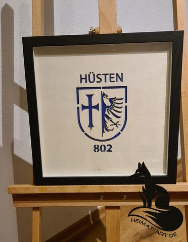 Kundenauftrag: Historisches Wappen der Stadt Hüsten