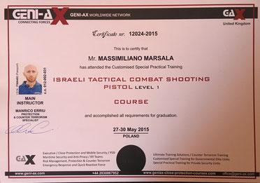 Operatore Israeli Combat shooting Massimiliano Marsala.jpg