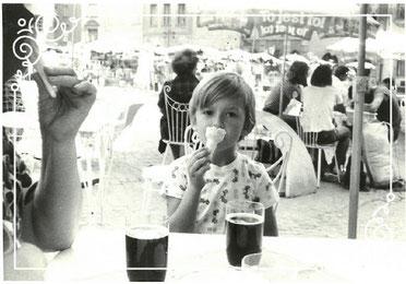 Me and my Grandpa: Europe circa 1980
