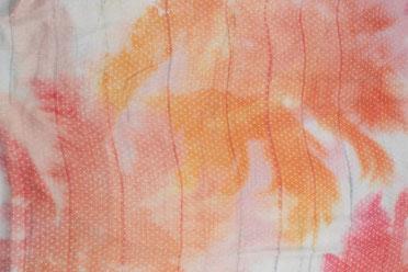 Schal mit Palmenmuster