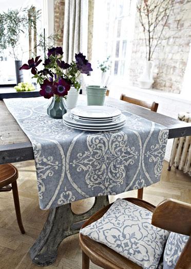 Leinenstoffe für Tischedecken