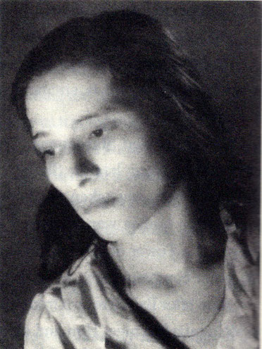 Perin photographed by her husband Beheram. This was an award-winning art photo. Courtesy of the Joyous Path book.