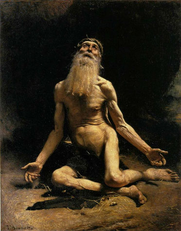 "L. Bonnat, ""Giobbe"" (1880)"