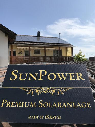 SunPower Premium Solaranlage