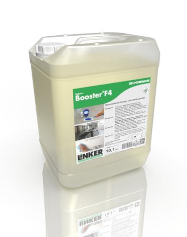 Booster F4, Entfettungsmittel, Linker Chemie, Reinigungsmittel