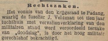 Het nieuws van den dag voor Nederlandsch-Indië 27-10-1906