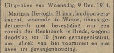 Eindhovensch dagblad 10-12-1914