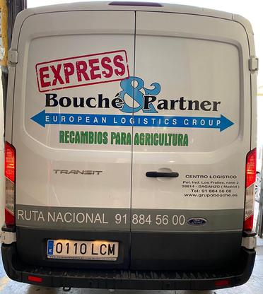 Bild: Vans der Groupo Bouché & Partner S.L. Overnight Express