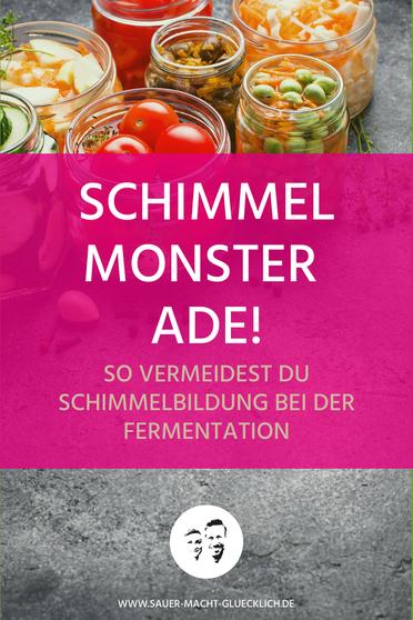 Schimmel bei fermentiertem Gemüse