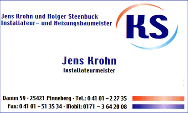 Jens Krohn Installateurmeister