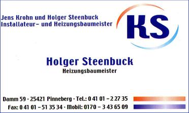 Holger Steenbuck Heizungsbaumeister