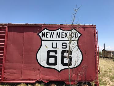 Route 66 near Albuquerque