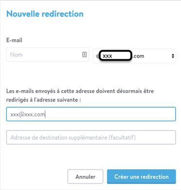 Jimdo Mail : mise en place des alias