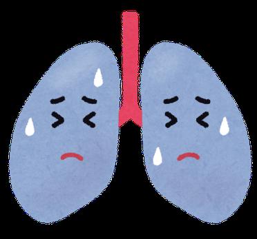 肺が苦しい