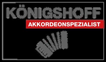 Akkordeon neu gebraucht Königshoff Reparaturen Kundendienst Werkstatt Detmold Lippe Akkordeonspezialist