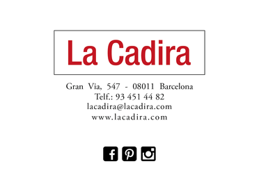 La Cadira tu tienda en Barcelona de sillas de comedor, cocina ...