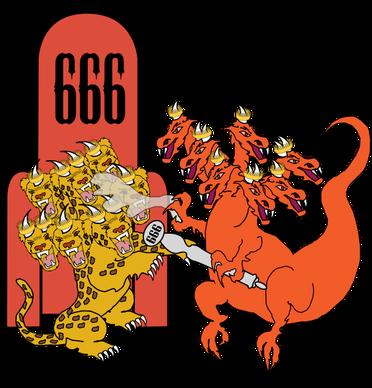 Le 5ème ange verse la coupe sur le trône de la bête (et l'ange de l'abîme ouvre la porte du puits de l'abîme) - changement de comportement de la bête, au début de la période dictatoriale de 7 années sous l'emprise de l'antichrist et l'influence de Satan.