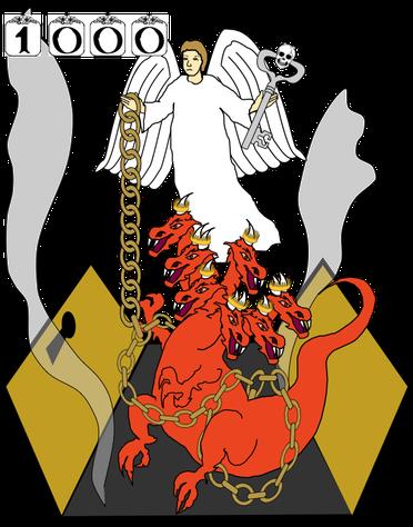 Jésus est l'ange de l'abîme, le roi des sauterelles, Il tient la clé de l'abîme et permet aux ténèbres spirituelles de se propager sur la surface de la terre. C'est lui qui permet le mal sur la terre et y mettra fin, il enchaînera Satan pour 1000 ans.