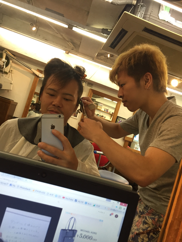横浜の無責任美容師☆奥条勇紀☆わたる君まさかの出来事