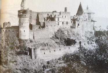 Vianden Castle in 1944
