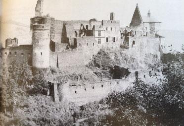 Vianden Castle in 1944