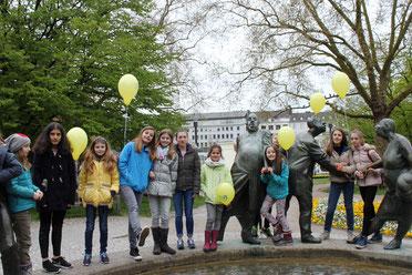 Am Geldbrunnen ( Photo Christiane Chmel )