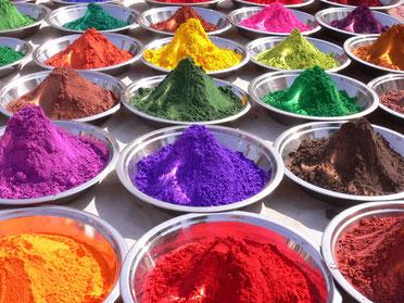 Пигменты для художественных красок