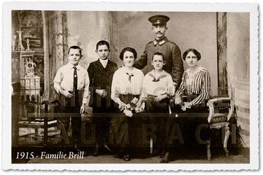 Schuhmacherei Baumbach - 1915 - Schuhmacherfamilie Brill