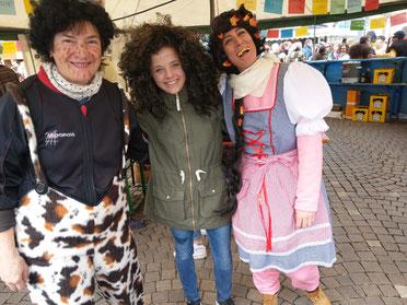 Marlene Boch, Anika Koros und Sara Ullrich