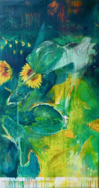 GASPERI 7/19 - Acryl/Öl auf Leinwand - 70 x 130 cm - 2019