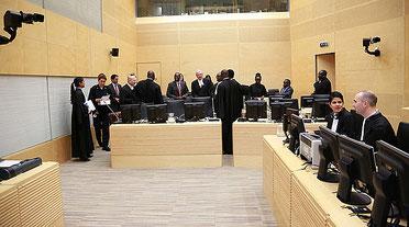 Il tribunale internazionale per i crimini conto l'umanità