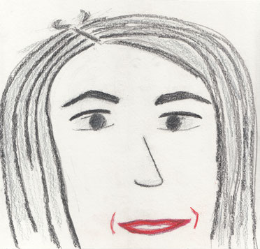 portrait of Naghmeh by Alex Jaeger