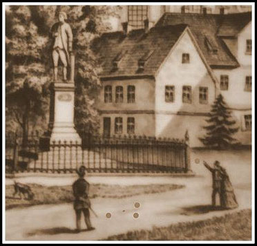 """Bild 2: Die Detailansicht zeigt: Das Spiel wurde ähnlich dem heutigen Pétanque gespielt, weshalb Experten es als """"Protopétanque"""" einstufen."""