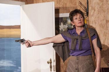 Silke Kuchenbecker als grandios gespielte Lisa. Und doch als jemand anders.
