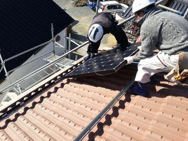 いわきの太陽光発電のことなら品田瓦工業にお任せ下さい