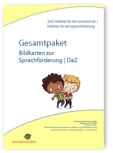 Sprachförderung Material: Bildkarten für die DaZ Sprachförderung