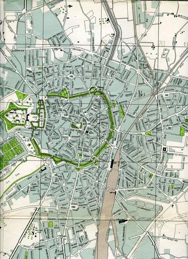Auszug aus dem Stadtplan von 1939