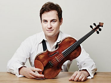 Jack Liebeck, violinist and 2010 winner of the Classical Brit Award – Young Artist of the Year