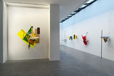 "2. Blick in die Ausstellung ""fray"" von Sebastian Kuhn. Foto: Andreas Pauly"