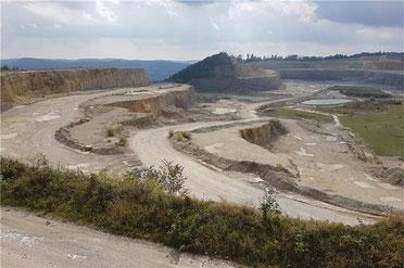 Die geplante Süderweiterung des Kalksteinbruchs wurde vom Landratsamt gestoppt.       © Daniel Seeburger