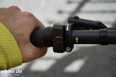 Lenkerremote mit LED und Vibrationsfeedback