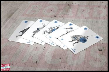 Board Game Circus nimmt das taktische Kartenspiel To War! in das Portfolio auf
