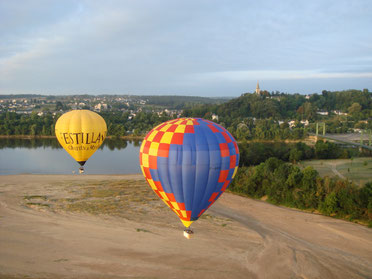 Domaine de Joreau, bed & breakfast Saumur, Loire Valley - hot airballon package