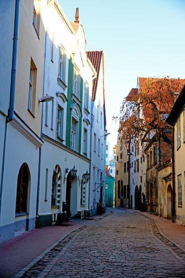 Die Altstadt von Riga.