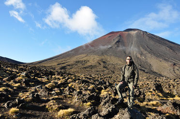 Vincenzo - Tongariro Alpine trek - New Zeland 2013