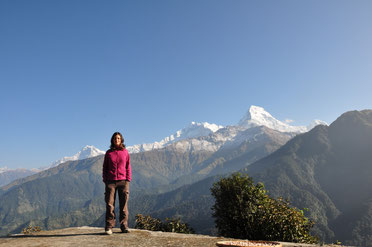 Milena - Anapurna Base Camp Trek - Nepal 2010
