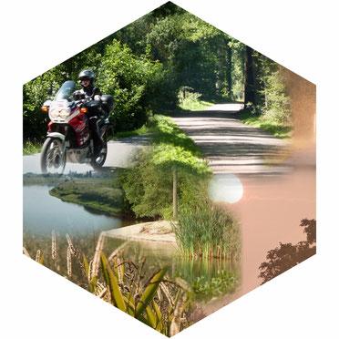 Motorradfahren im Selfkant und Umgebung