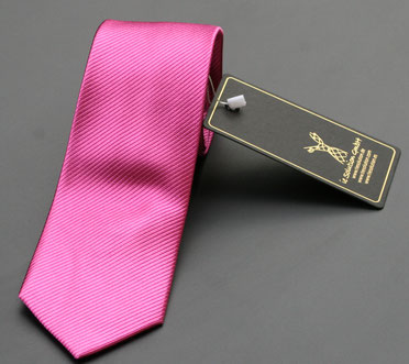 Corbata color fucsia