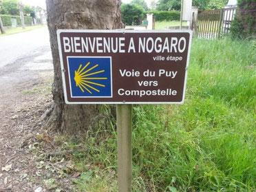 Nogaro, GR65, Compostelle