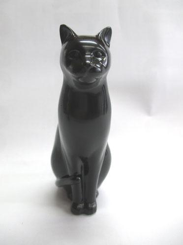 乾漆の猫 中塗り
